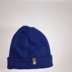 North Face toddlers beenie hat reversible
